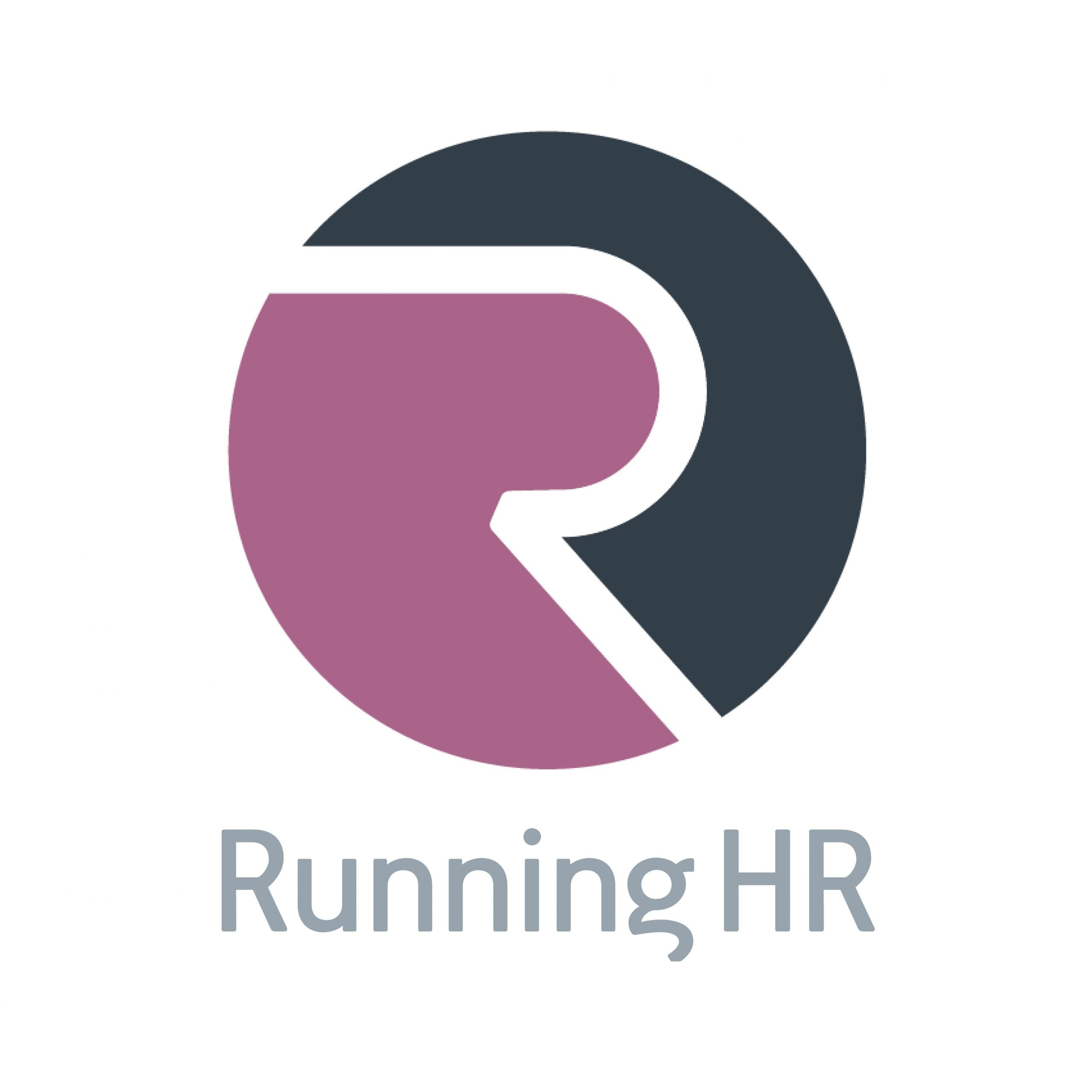 Running HR logo with Text